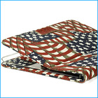 Vintage canvas 10 inch tablet case for iPad air 5-USA flag