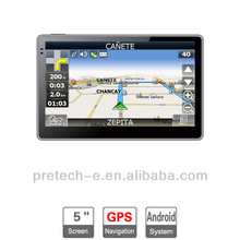 Best quality 6 inch Android GPS