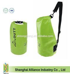New green pvc dry bag waterproof for kayaking (TM-DS-011)