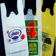 plastic bag tshirt ta Top grade