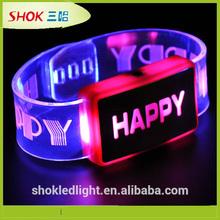 2014 party supply led bangle bracelets