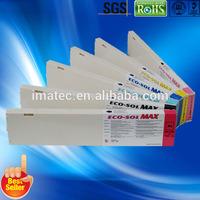 Factory Supply:: Premium Eco Sol Max Ink Cartridge for Roland SOLJET PRO, VersaArt, VersaCAMM, 440ML, Plug and Play
