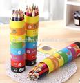özel ahşap renkli kalem cetvel tüp kutusu