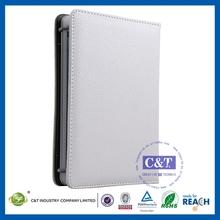 2014 New style protective 4 fold leather case for ipad mini