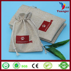 Promotional Eco Friendly Small Drawstring Stylish Printable Pouch Jute Bags
