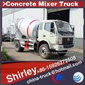 4 m3 beton mikser kamyonu, mini beton karıştırıcı, ikinci el çimento mikseri