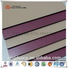 PVDF aluminum composite panel line