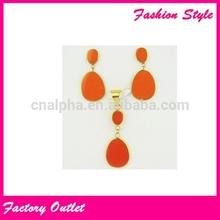 Haute qualité classique ensemble de bijoux pour femmes
