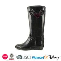 2014 high heels snow rubber boots women