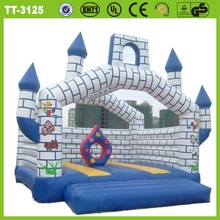 Newly design pretty lovely cheap inflatable jumping bed