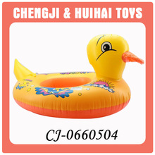 Cute shape duck swimming ring inflatable for sale