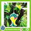 custom plastic world cup 2014 keychain