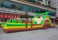 Gonflable en plein air cours de jeux équipements