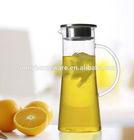 heat resistant glass teapot transparent coffee pot , pyrex blooming tea pot