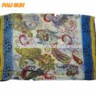 wonderful light color tatting scarf shawl