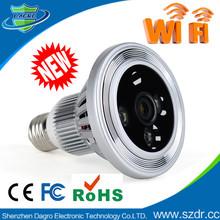 H310-Lamp WIFI Camera with memory card, CCTV P2P IP wifi cameras ,wireless night vision hidden camera