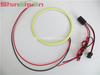 LED COB Angel Eyes light car headlight decoration / white blue green yellow red COB rings 60mm 70m 80mm 90mm 100mm