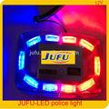 resistente al agua 12v fácil instalación de alta potencia led lámpara de la policía