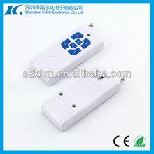 1km far distance wireless 6-buttons universal rf 433.92mhz remote control
