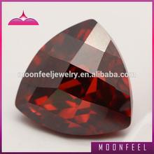 Low price garnet fat triangle shape gemstone popular in Brazil