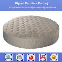 Chinese bamboo king size round bed mattress