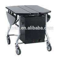 mobile food service cart