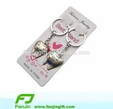 Tooth Best Friend metal couple key holder