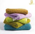 De lujo de mano veces m 100% toallas de algodón egipcio terry toallas de tela