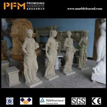 Interior design granite eagle sculptures