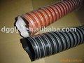 silicone de alta temperatura retrátil mangueira de tecido