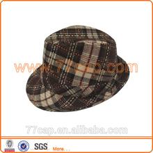 Fashion Straw Fedora Hats