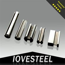 Iovesteel 2014 newst hot sale foshan spiral welded/seamless stainless steel pipe
