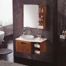 Modern solid wood bathroom sanitary furniture storage HS-A022
