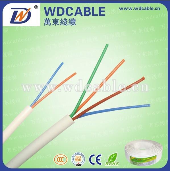 Kabel Telepon 2 Pair Putih Kabel Telepon 2 Pair