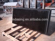 Natural Prefab Granite Countertop,Black Galaxy Granite Kitchen Counter Top