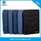 wholesale leather cover for ipad air & for ipad air jeans leather case