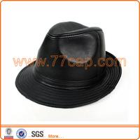 High quality jewish hat, leather Men's hat