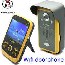 KIVOS KDB300 2.4ghz digital wireless intercom video door phone