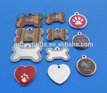custom design lovers dog tags