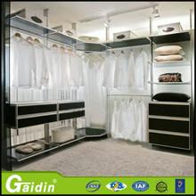 well designed bedroom metal wardrobe cupboards