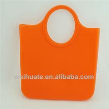 china supplier beach bag transparent satchel italy brand silicone handbags