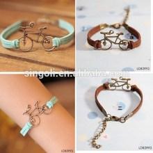 2014 Long Journey Bike Bracelet, Forever Love Bike Bracelet, Couple Bike Bracelet