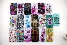 19 style flower owl flag star gel tpu soft case cover for Samsung Galaxy N9000 note 3 III