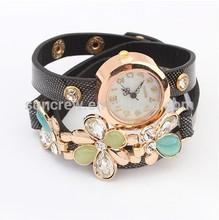 fashion quartz watch summer flower design wholesale watches