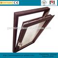 Gaomingหน้าต่างกระจกสองราคา, แขวน, โค้ง, ผู้ผลิตอลูมิเนียมกระจกหน้าต่างคง