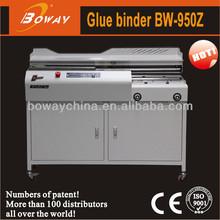 Perfect binding machine price 2000 - 4000 Boway 950 A4 Book Binder Automatic perfect binding machine