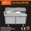 Boway 960 B4 self diagnose low noise book shelf station automatic glue perfect binding machine