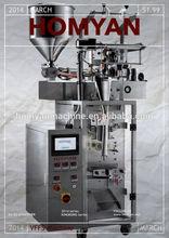 Top configuration automatic liquid packing machine