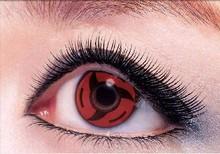 japanese cartoon sharingan cosplay red naruto crazy contact lens