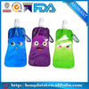water bag, cute cartoon resealable laminated spout pouch for kids